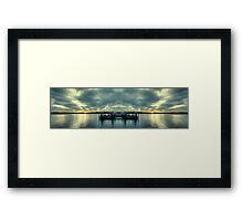 Sans Souci Sunset Framed Print