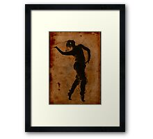 Dancing in Greek Framed Print