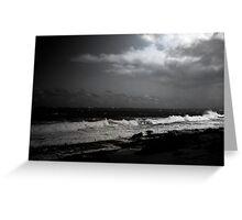 Puerto Rico Shoreline Greeting Card