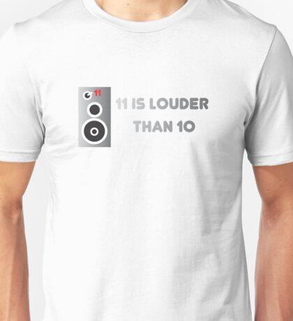 11 Is Louder Than 10 Speaker - Music DJ Unisex T-Shirt