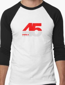 45 RPM - DJ Music Vinyl Men's Baseball ¾ T-Shirt