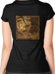 love don't live here anymore [smoky matte rendition] Women's Fitted Scoop T-Shirt