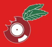 Apple Vinyl Bite - Record DJ Kids Tee
