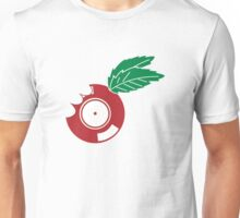 Apple Vinyl Bite - Record DJ Unisex T-Shirt
