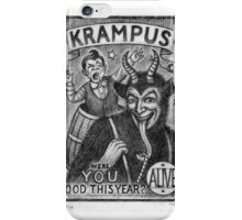 Krampus iPhone Case/Skin