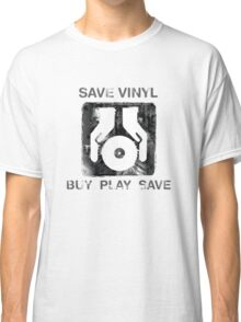 Save Vinyl - Record DJ Music Classic T-Shirt