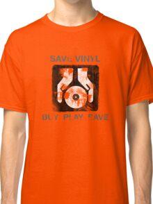 Save Vinyl - Record DJ Music Classic T-Shirt