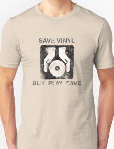 Save Vinyl - Record DJ Music T-Shirt