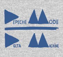 Depeche Mode Delta Machine (blue) by AimLamb