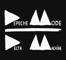 Depeche Mode Delta Machine (white) by AimLamb