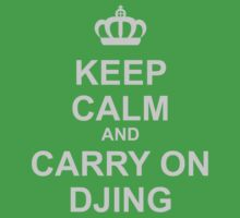 Keep Calm And Carry On Djing One Piece - Short Sleeve