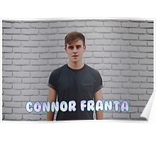 Connor Franta wall Poster