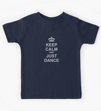 Keep Calm And Just Dance Kids Tee