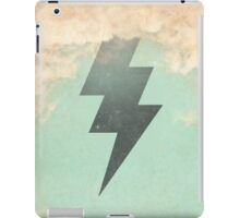 Bolt from the blue iPad Case/Skin