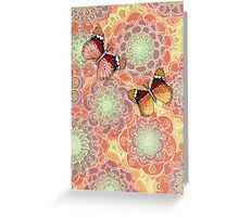 Butterfly Obsession Greeting Card