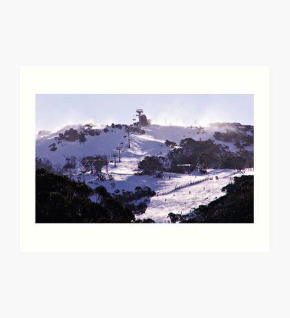 The Perisher Valley, NSW, Australia Art Print