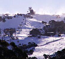 The Perisher Valley, NSW, Australia by Kylie Daniel