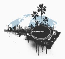 Stanton Miami City Turntable by HOTDJGEAR