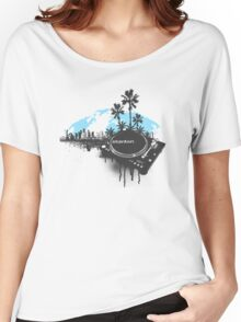 Stanton Miami City Turntable Women's Relaxed Fit T-Shirt