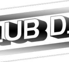 Club DJ Sticker