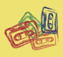 Retro Mix Tapes Baby Tee