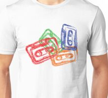 Retro Mix Tapes Unisex T-Shirt