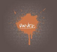 Dance Graffiti One Piece - Short Sleeve