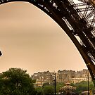 Under the Eiffel Tower in Paris by Elana Bailey