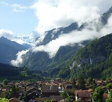 Cloudy Alp Village by KreissCore