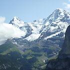Snowy Eiger by KreissCore