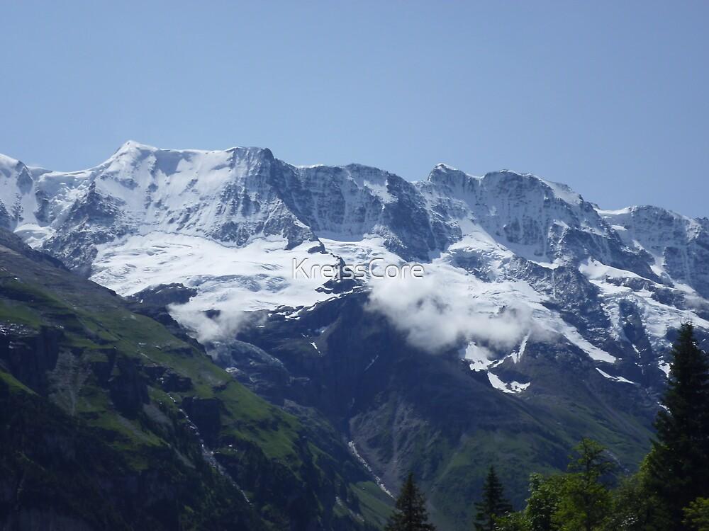Snowy Alps by KreissCore