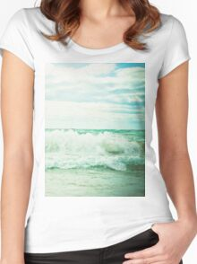 Crash Women's Fitted Scoop T-Shirt