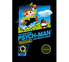 The Amazing Psych-Man!! (and Magic Head) Photographic Print