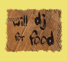 Will DJ For Food Kids Tee