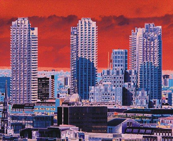 London Tower Blocks by himmstudios