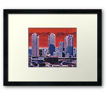 London Tower Blocks Framed Print