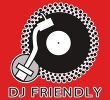 DJ Friendly Kids Tee
