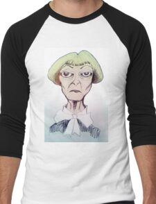 Betty Davis eyes Men's Baseball ¾ T-Shirt