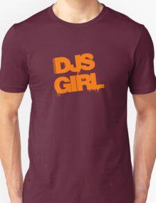 DJs Girl Orange T-Shirt