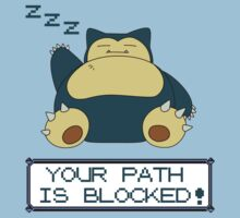Pokèmon - Your Path Is Blocked! by Lunil