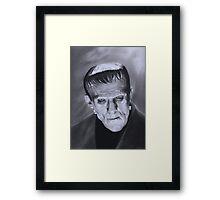 The Frankenstein Creature Framed Print