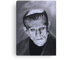 The Frankenstein Creature Canvas Print