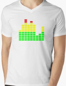 EQ DJ Shirt Mens V-Neck T-Shirt
