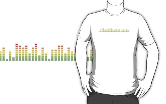 Equaliser DJ T-Shirts by HOTDJGEAR