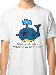 Whale Puns  Classic T-Shirt