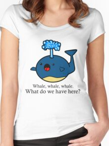 Whale Puns  Women's Fitted Scoop T-Shirt