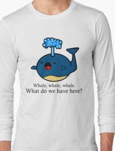 Whale Puns  Long Sleeve T-Shirt