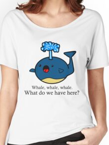Whale Puns  Women's Relaxed Fit T-Shirt