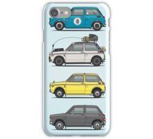 Stack of Honda N360 N600 Kei Cars iPhone Case/Skin