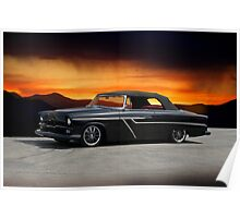 1955 Plymouth Custom Convertible Poster